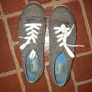 Keds Center sneakers size 6, grey, women's